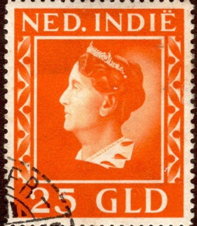 Postzegel Nederlands Indië1